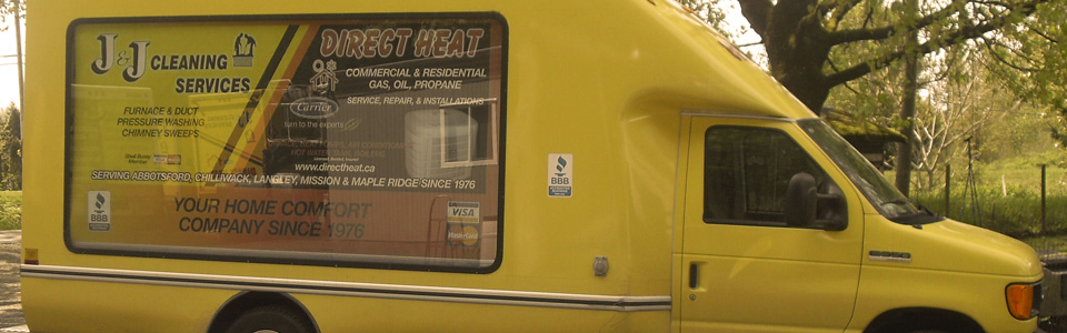 Direct Heat Van